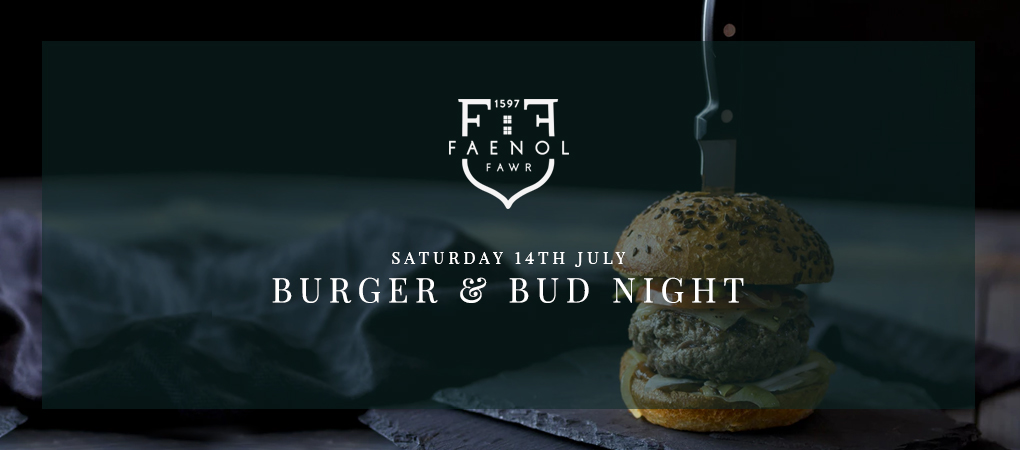 a burger and bud night