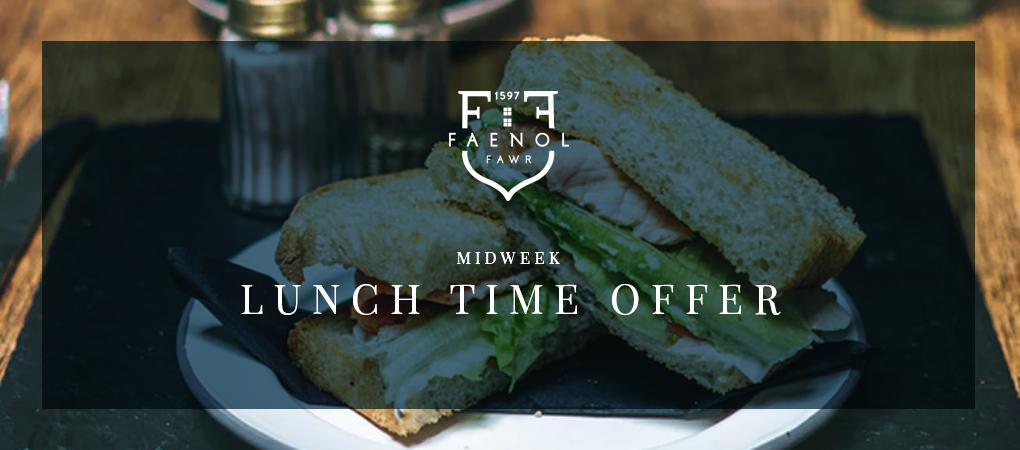 Lunch Offer at Faenol Fawr